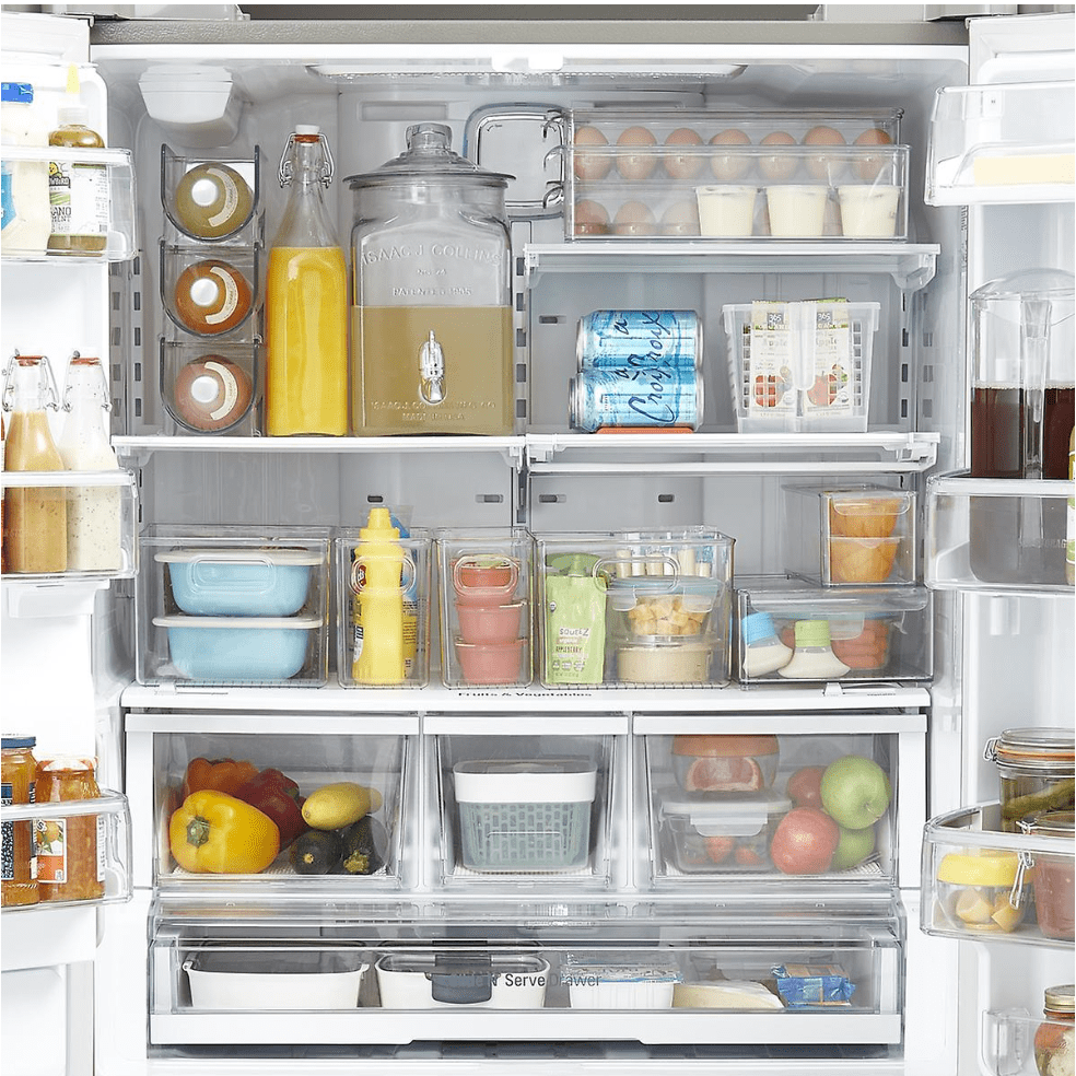 The Container Store: Refrigerator Organization